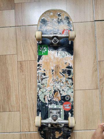 Skate montado do zero