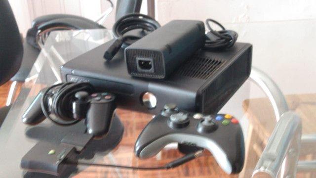 X box 360 com 50 jogos  - Foto 4