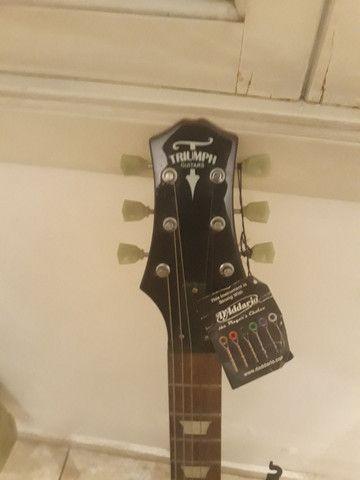 Guitarra SG Triumph nova( braço colado) - Foto 6