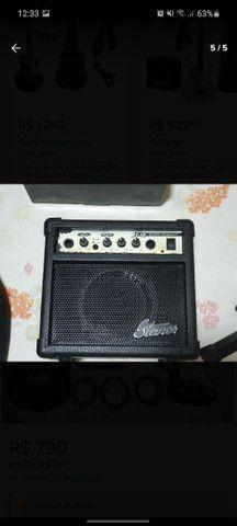 Guitarra Condor completa com amplificador - Foto 5
