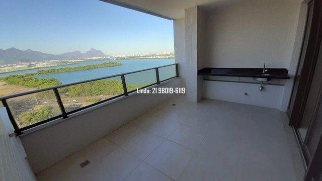 Cobertura no Ilha Pura, 3 quartos, 281m, piscina, sauna, churrasqueira, vista lagoa/mar - Foto 4