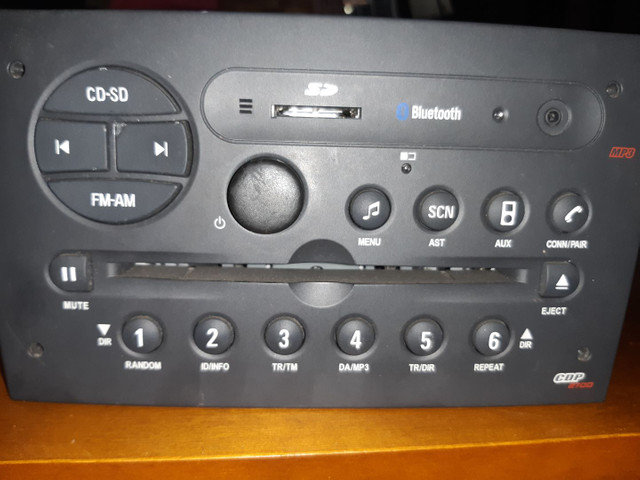 Som Bluetooth original Meriva 2011