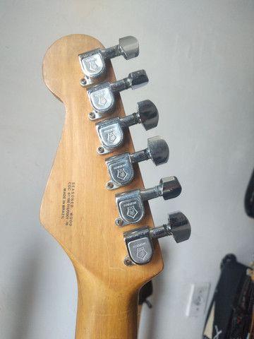 O F E R T A!!! Guitarra Giannini Stratosonic 1990. Aceito trocas e cartão de crédito  - Foto 4