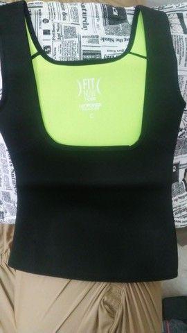 T-Shirt para exercícios - Foto 5