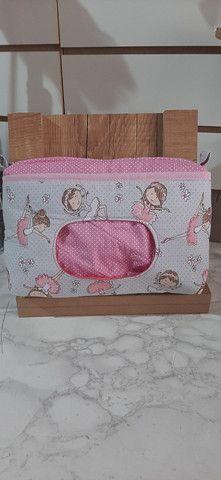 Porta fraldas e lenço umidecido  - Foto 4