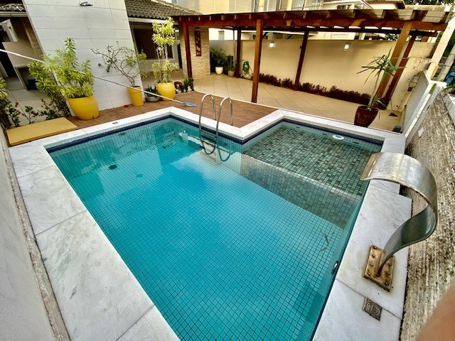 Casa moderna, clean, 4 quartos piscina privativa, condomínio fechado com portaria 24h - Foto 5