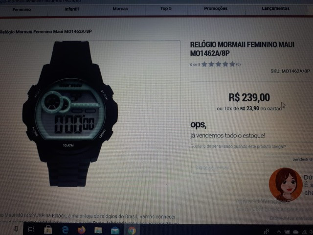 Relógios Mormaii Luau Feminino MO1462A/8D - Novos (3 Unidades) - Foto 4