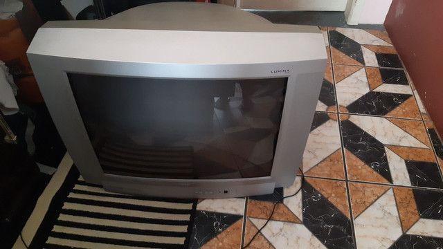televisão 29 polegada com conversor - Foto 2