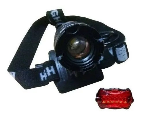 Lanterna De Cabeça E Farol Para Bike B-max Swat Ultra Forte - Loja Natan Abreu - Foto 5