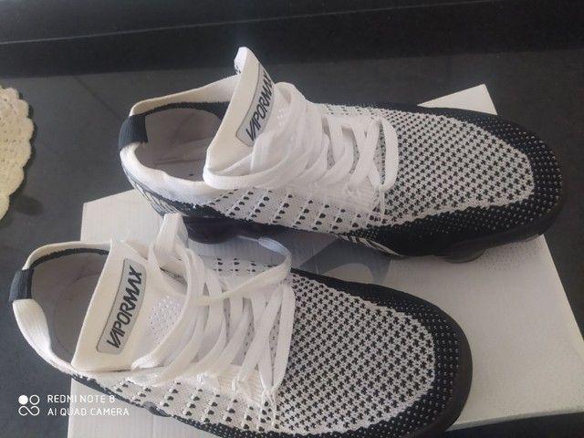 Tênis Nike vapor Max zebra - Foto 2
