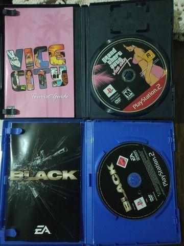 Jogo Black e o GTA vice city original Leia descrição.