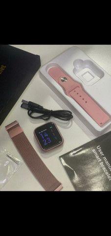 Smartwatch T80 PRO novidade - Foto 4