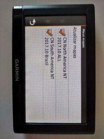 GPS automotivo Garmin com mapas instalados - Foto 2