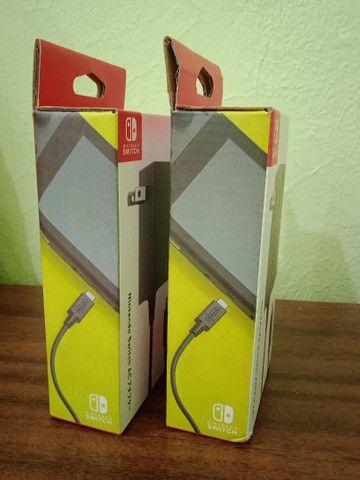 Fonte carregador Adaptador AC Nintendo Switch Original Lacrado - Foto 2