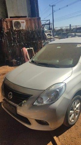 Sucata Nissan Versa 2013 Sucataria Com Garantia Para Peças - Foto 6