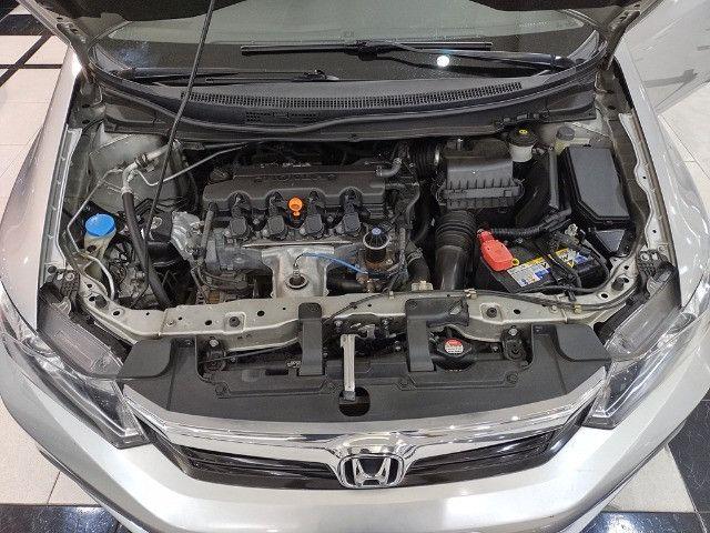 Honda Civic 1.8 LXL 16v Flex 4p Completo C/ Ar Digital - Foto 6
