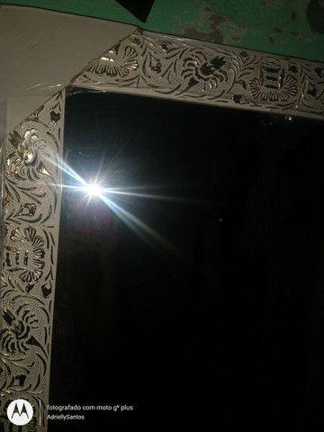 Espelho grande com moldura - Foto 2