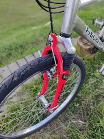 Vendo ou Troco Bike Fischer - Foto 4