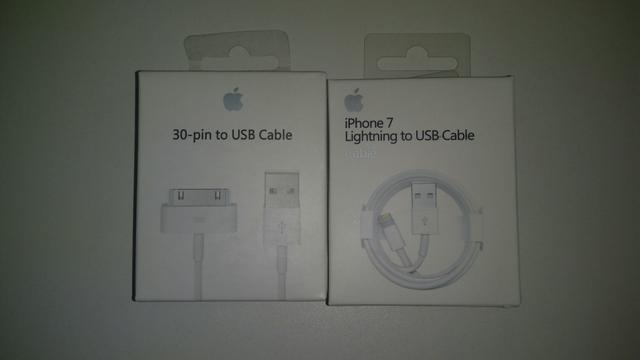 Cabos USB Apple iPhone