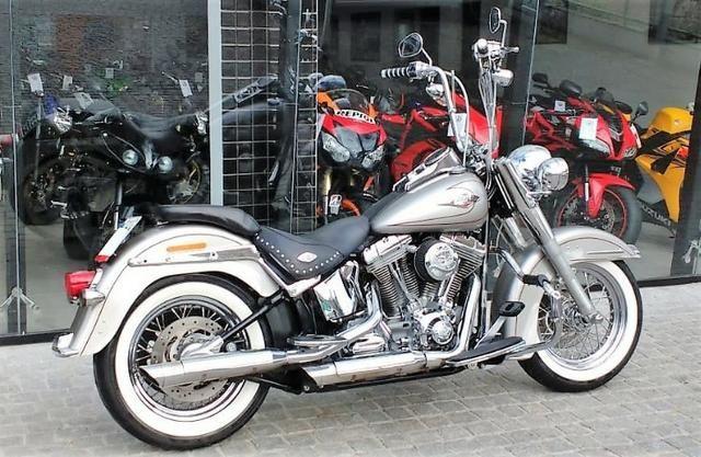 Harley-davidson Softail Deluxe Flstn - Foto 3