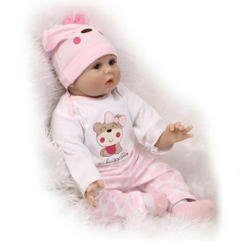 Bebê Reborn 55cm A Maior E A Mais Barata + Brinde Vendemos no M.L