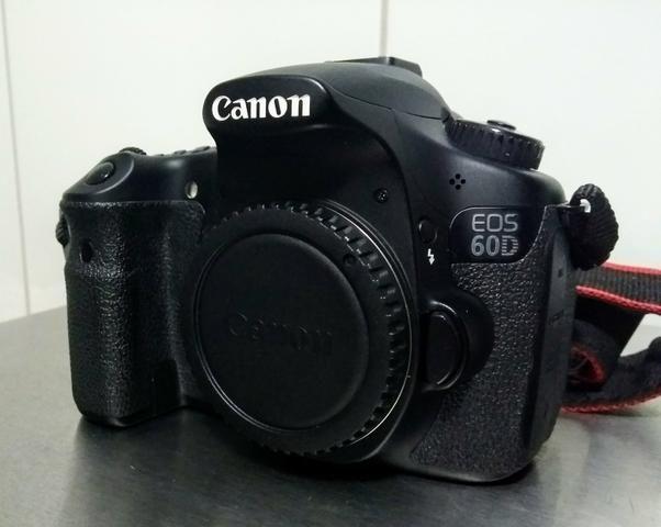 Camera cânon 60d + lente 50mm 1.8