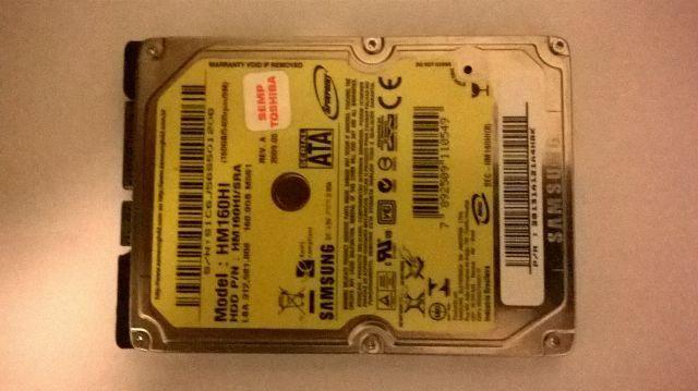 Hd samsung 160 gb - usado