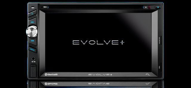 Central Multimídia Evolve+ DVD, GPS, USB, Espelhamento