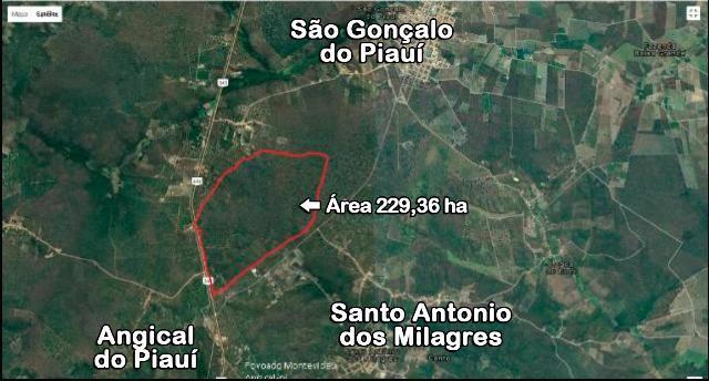 Terreno em Angical do Piauí