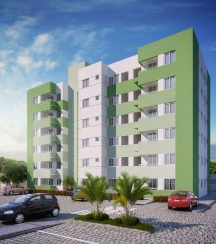 Apartamento Vida Residencial em Socorro na planta - 2/4 com Elevador