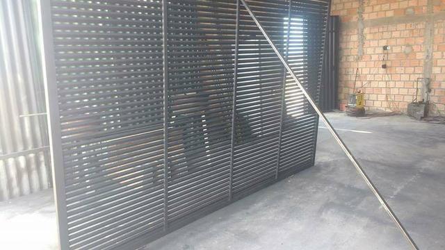 Promoção de portão galvanizado