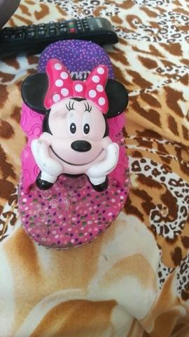 Chinelo Minnie mouse importado 23/24