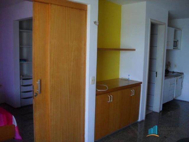 Flat residencial para locação, Mucuripe, Fortaleza. - Foto 14