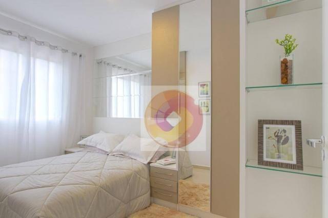Apartamento com 2 dormitórios à venda, 52 m² por R$ 173.500 - Cidade Industrial - Curitiba - Foto 16