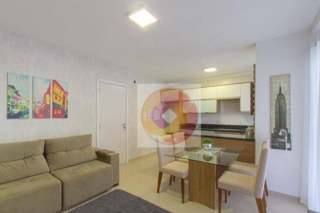 Apartamento com 2 dormitórios à venda, 52 m² por R$ 173.500 - Cidade Industrial - Curitiba - Foto 12