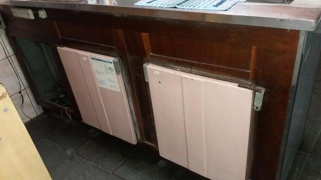 Geladeira Balcão - Funcionando perfeitamente - 2 portas - Foto 2