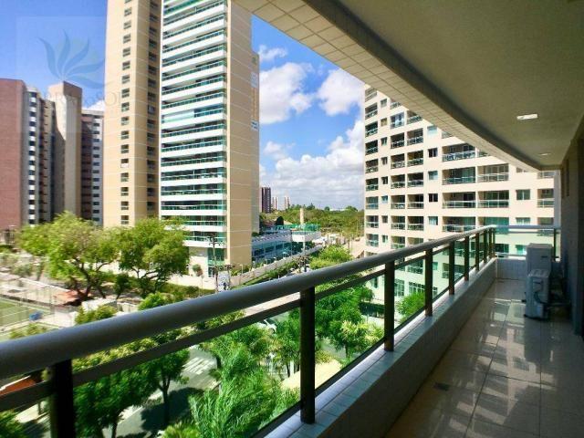 Apartamento com 3 dormitórios à venda, 149 m² por R$ 875.000 - Guararapes - Fortaleza/CE - Foto 10