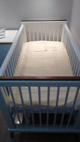 Berço mini cama branco laqueado - linha âmbar da sleeper - quarto crescente - Foto 4