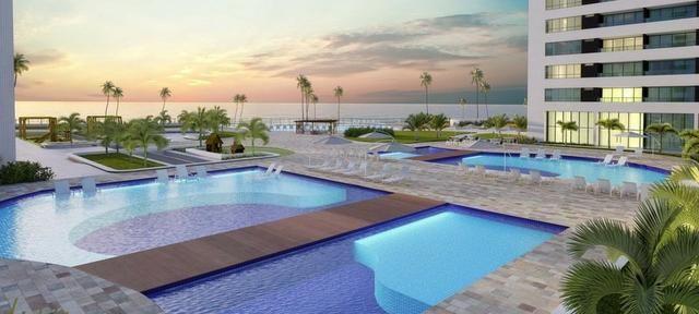 Jacarecica - Apartamento beira mar com 3 suítes - Foto 4