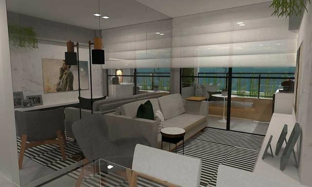 Cruz das Almas - Apartamentos quarto e sala e 2 quartos com vista para o mar - Foto 17