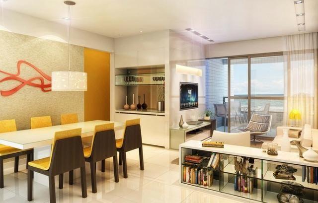 Jacarecica - Apartamento beira mar com 3 suítes - Foto 15
