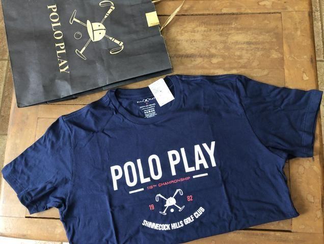 d4ed001540 Camiseta Polo Play Original C  Etiqueta P - Roupas e calçados - Vila ...