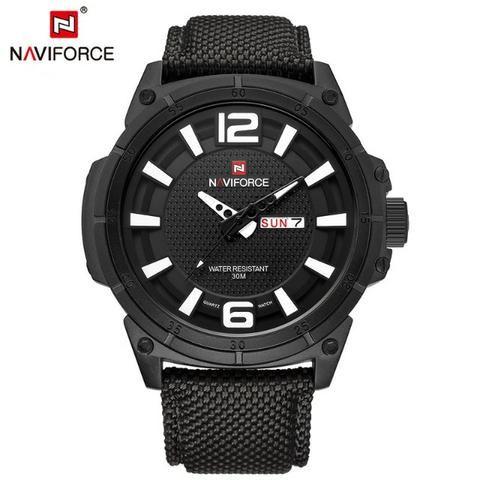 9e753ac1e65 Relógio Masculino Naviforce Luxo 4 - Bijouterias