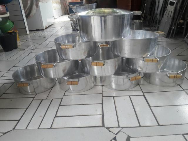 Panelaó 12 lts aluminio batido