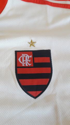 c2462068e7 Camisa Flamengo II 2018 s n° Torcedor Adidas Masculina - Off White e  Vermelho