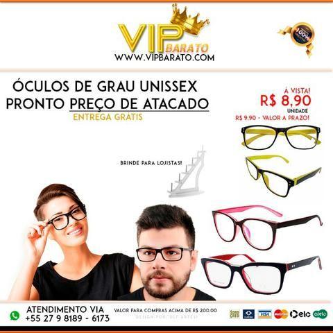 f06d83ffe Óculos de Grau Pronto - Unissex - Preço de Atacado - Bijouterias ...