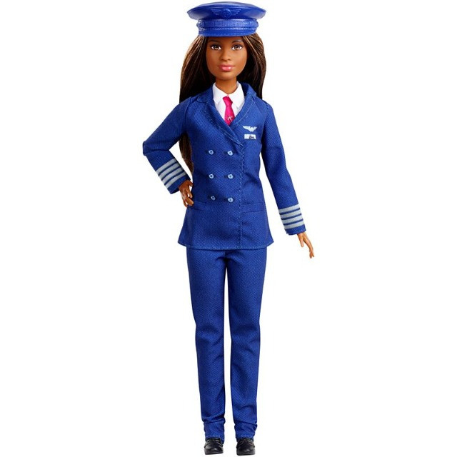Boneca Barbie Piloto de Avião - Negra lindaaaa! - Foto 3