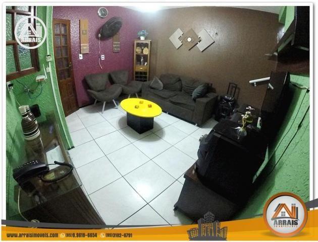 Casa com 3 dormitórios à venda, 100 m² por R$ 350.000,00 - Benfica - Fortaleza/CE - Foto 6
