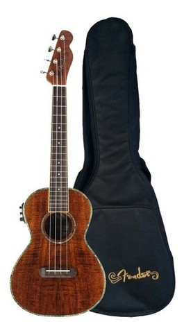 Ukulele Fender Nohea Electric Tenor Natural C/ Bag
