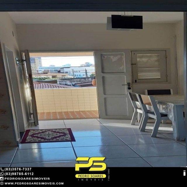 Apartamento com 1 dormitório para alugar, 60 m² por R$ 1.400,00/mês - Tambaú - João Pessoa - Foto 3